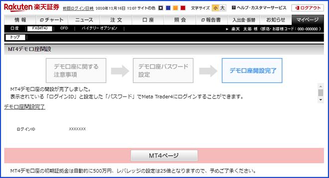 楽天 fx mt4 評判